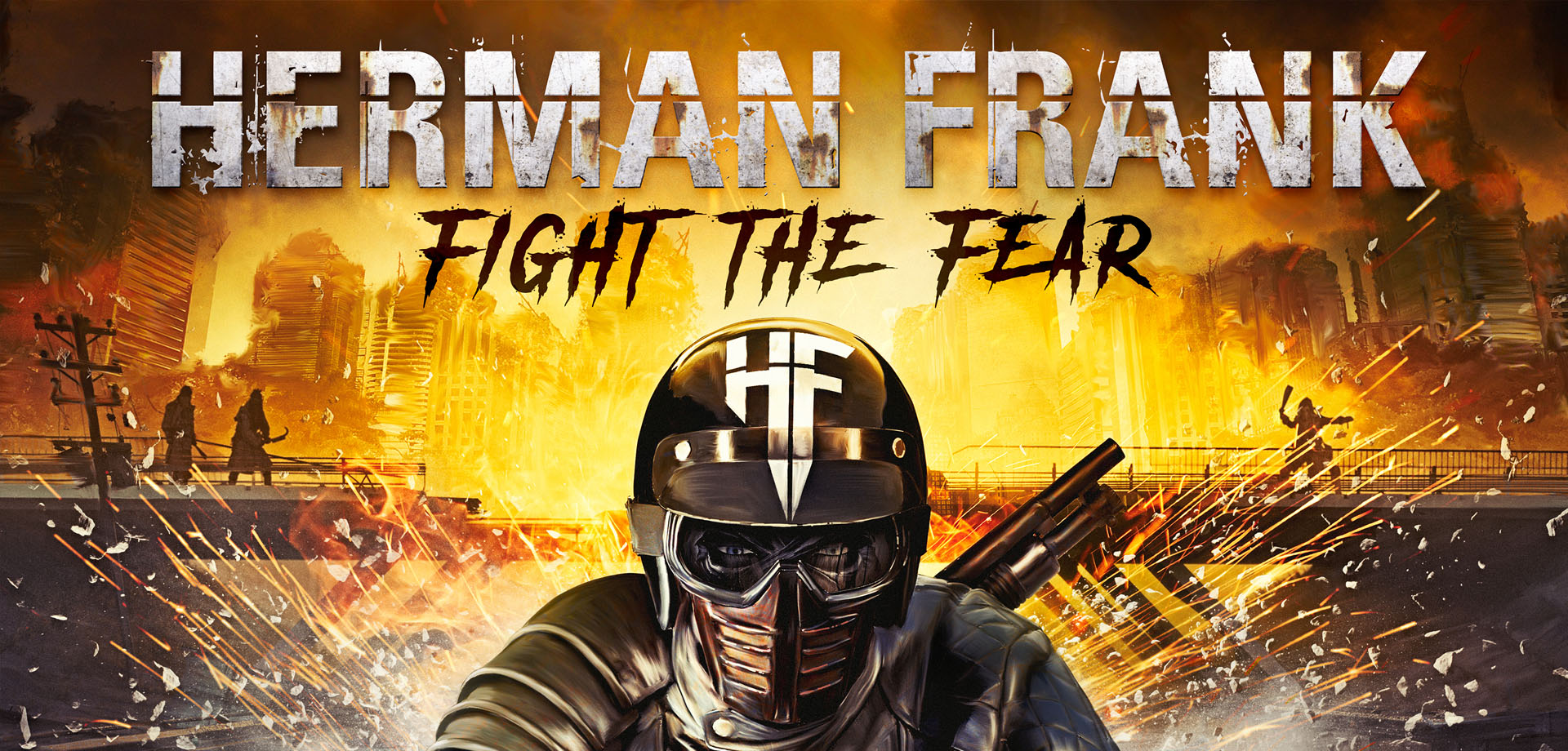 Herman Frank - Fight The Fear
