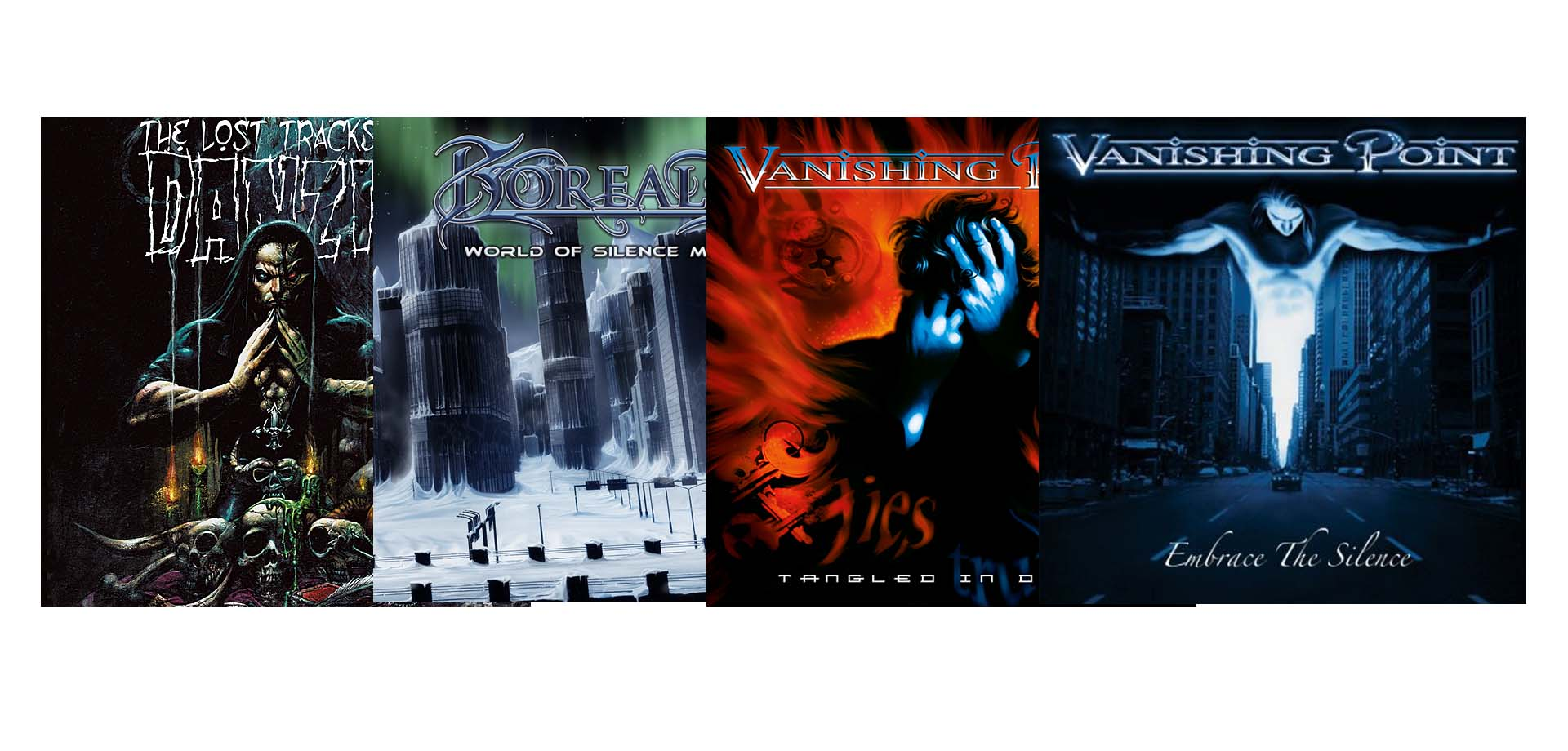 RE-RELEASES - Vanishing Point, Borealis, Danzig