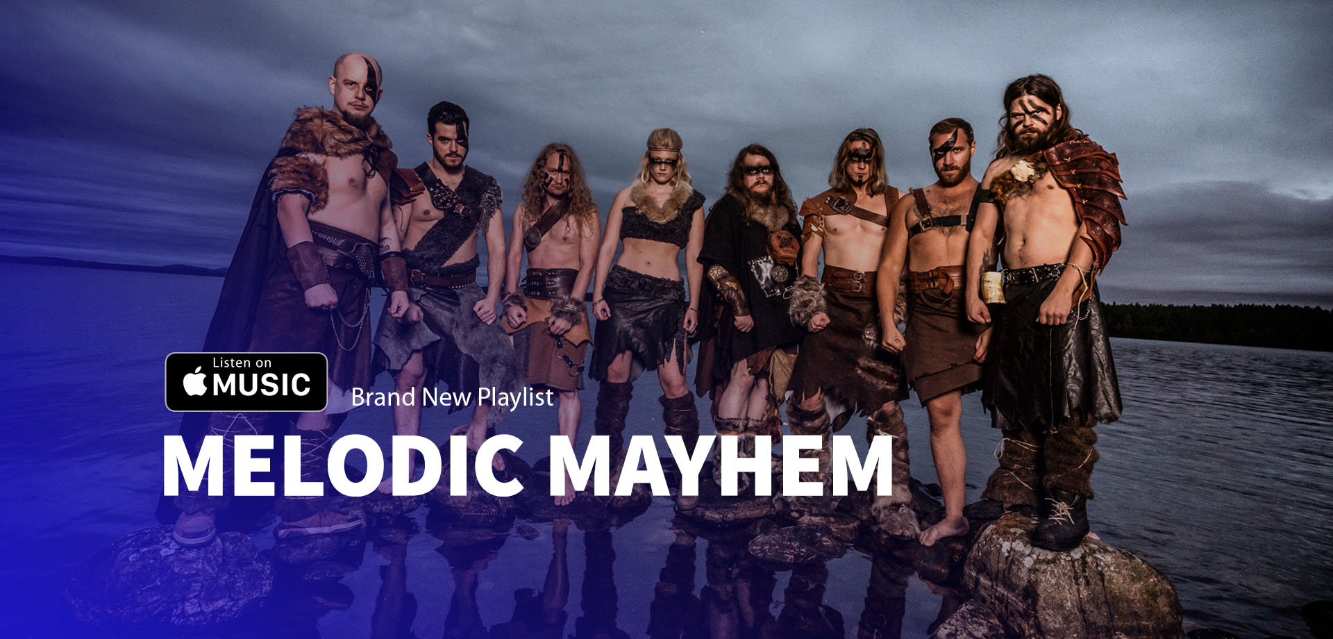 MELODIC MAYHEM - Brand new Apple Music playlist for Epic and Melodic Power Metal